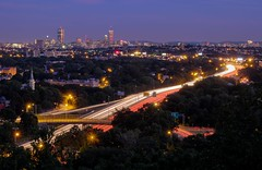 longexposure boston skyline evening fells middlesexfells i93 wrightstower