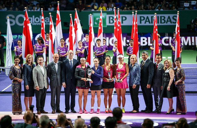 BNP Paribas WTA Finals Singapore 2014