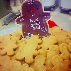 """'To All a Good Bite!' #HamOnt #FunWithBaking #Baking #Bakery #Gingerbread #GingerbreadMen #goodfoodmatters #Ginger #ShopLocal #CountdownToChristmas #ChristmasBaking #Christmas #Sugar #Butter #PunchBowl #Homestyle #Luxury #Sweets #ChristmasEve #CookiesForS • <a style=""""font-size:0.8em;"""" href=""""http://www.flickr.com/photos/129307582@N07/15597207738/"""" target=""""_blank"""">View on Flickr</a>"""