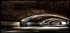 architecture canon lumière tunnel promenade lorraine metz ponts visite voitures moselle 450d canonefs18200mm
