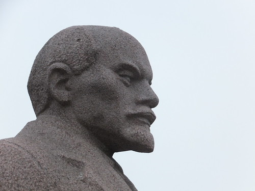 Lenin: Always looking ahead.