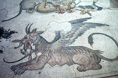 Museo Mosaicos, detalle. (chemakayser) Tags: roma mosaico museo palacio estambul arqueologia constantinopla nikond5200