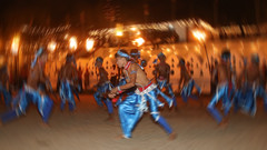 Perahera Dancers (IMG_1523_blur) (Denish C) Tags: street boy blur heritage youth fun dance costume joy young culture buddhism dancer parade barefoot srilanka ceylon colourful tradition pageant hinduism kandy chant photoedit perahera esala