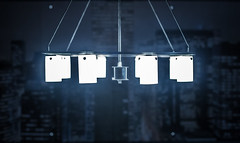 blue (Kacey_Oesterreich) Tags: street city blue urban vintage lights photo cool glow shining