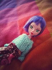 Intento de remaquillaje ( MintCupcake ) Tags: monster high doll custom