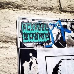 Sticker art (mcknightpercy) Tags: urban art love graffiti sticker artist collab slaps retrial insta thimp rgtrill