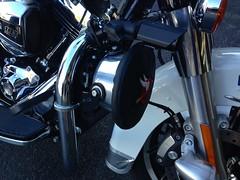 Harley Davidson Police bike siren cover by Shamrocktrim and sold on ebay. (Shamrock Auto Trim) Tags: auto beach bike wheel flying ebay florida miami sold north police harley cover trim davidson shamrock siren photostream bagger shamrocktrimcom shamrockridecom 3059443621