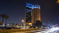 First time (Hatem Baloush) Tags: street sky night photography hotel view clear saudi arabia jeddah ksa rosewood