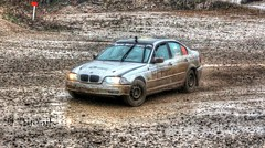 BMW E46 (Dag Kirin) Tags: santa mud rally bmw straight six gravel domenica e46