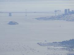 Alcatraz + San Francisco (sftrajan) Tags: sanfrancisco california statepark mountain skyline bay harbor view telephoto bahia baybridge marincounty alcatraz sausalito vue mounttam mounttamalpais