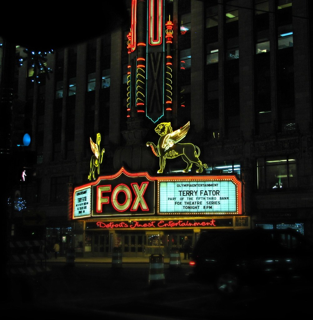 Fox Theater Mi: The World's Best Photos Of Fox And Marquee