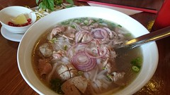 Sliced beef and beef ball pho AUD10 - Quan 88, Richmond (avlxyz) Tags: soup fb noodle pho farang
