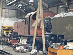 41313 Isle of Wight Steam Railway 210913 (Dan86401) Tags: br steamengine 262 lms 262t ivatt londonmidlandandscottishrailway isleofwightsteamrailway 41313 2mt iowsr