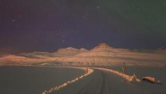 Winter night in Faskrudsfjordur (*Jonina*) Tags: longexposure winter mountains night iceland 500views ísland 1000views vetur nótt fjöll 50faves 1500views fáskrúðsfjörður faskrudsfjordur jónínaguðrúnóskarsdóttir digritindur
