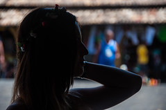 Silhouette (vianalucao) Tags: blue roof brazil sky people saint wheel silhouette yellow statue azul brasil umbrella heaven chuva saints ferris jewelry bijuteria cu amarelo santos gigante telhado santo roda statuette rodagigante guarda esttua teto guardachuva estatueta jia bijuterias jias