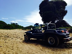 My Travels and Lucy (JonathanGerard) Tags: ocean travel brazil beach southamerica nature beauty natal sand riogrande dunebuggy untainted iphone5