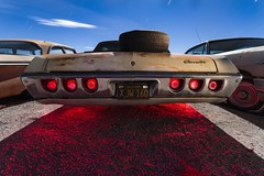 Chevrolet Hoover Craft (Aztravelgrl (Forgotten Places Photography)) Tags: california nightphotography usa lightpainting cars chevrolet abandoned night moonlight led2 protomachine imapalsupersport