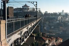 Ponte e Serra (rgrant_97) Tags: slr portugal fuji olympus ponte porto douro om1 riio