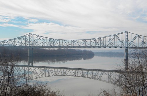 Portsmouth (OH) United States  City new picture : Portsmouth Ohio: The Carl Perkins Bridge across the Ohio River by ...