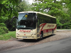 Boxhill, 12.5.16 (Tony's Trains and Buses) Tags: volvo boxhill paragon safeguard plaxton