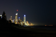 Gold Coast City Lights #exposure