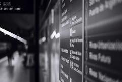 Madrid metro 1. (Riccardo Nobile Photos ) Tags: madrid street trip travel espaa white black film blanco me analog photography spain erasmus metro pentax kodak top trix negro super line e 400 boke bianco nero riccardo mesuper monocrome 2016 nobile bokelicious filmisnotdied
