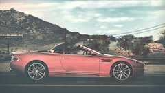Killing Me Softly... (polyneutron) Tags: red car photography tint automotive depthoffield videogame needforspeed supercar astonmartin dbs nfs hotpursuit photomode hp2010