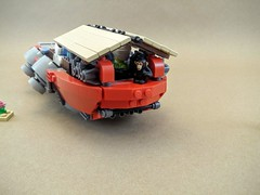 Barge (Sir If) Tags: ship lego transport cargo scifi
