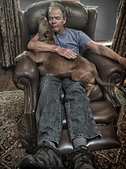 taking a nap (Arniesra) Tags: pitbull bonnie