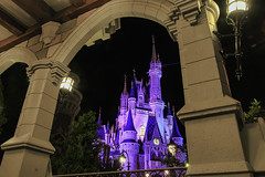 A view through the archway (DsnyCpl) Tags: archway magickingdom cinderellacastle disneyafterdark tamron18270mm canon70d