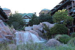 Waterfall at Fort Wilderness Lodge (krisjaus) Tags: disney gingerbreadhouse waltdisneyworld portorleansriverside fortwildernesslodge krisjaus thegrandfloridian richardatthegrandfloridian