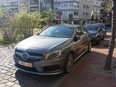 Mercedes-Benz A45 AMG (Alessandro_059) Tags: grey mercedesbenz a45 amg