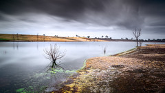 Lake Eppalock (RWYoung Images) Tags: longexposure lake water canon dam australia melbourne victoria slowshutter eppalock rwyoung 5d3 abctvweather