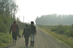(.Luz.) Tags: morning sol maana campo amistad bruma