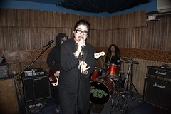 Call Her Savage (The All-Nite Images) Tags: night out all nite shrunken callhersavage yorkmanhattan yamamotothe livepunkfemalewitches 14ottos headotto imagesnyclesnew
