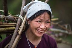 Vietnam:  retour des champs. (claude gourlay) Tags: portrait people face asia retrato vietnam asie ethnic ritratti indochine caobang tonkin ethnie minorit claudegourlay