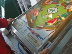 Energy conservation pinball game (Alex-Boy) Tags: canada dam columbia british hydroelectric bchydro hydroelectricity