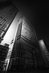 Cos come le sfumature della nostra vita... (Salvatore Brontolone) Tags: white centro ombre napoli luci grattacielo palazzo vetro direzionale sfumature bliack