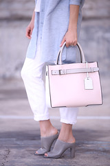 PinkReed2 (InSpadesBlog) Tags: fashion style blogger kennethcole frenchconnection ootd whitedenim croppedjeans reedkrakoff