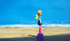 Barbie Figure By Mega Bloks 2015 : Diorama Beach - 5 Of 9 (Kelvin64) Tags: barbie figure by mega bloks 2015 diorama beach