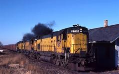 Whoops (ac1756) Tags: rock michigan northwestern alco cnw 6730 c628