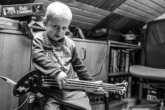 Rock'n'roll (I.Dostl) Tags: boy musician music kid child play bass guitar player rocknroll bassguitar combo