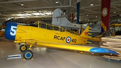 North American CCF Harvard 4 at Canadian Warplane Heritage (J.Comstedt) Tags: aircraft aviation museum canadian warplane heritage hamilton airport ontario canada north american ccf car foundry harvard texan cfvmg air johnny comstedt