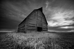 The Sentinel (IanDMcGregor) Tags: blackandwhite canada monochrome barn landscape photography nikon farm country prairie saskatchewan ianmcgregor ianmcgregorphotographycom