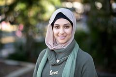 Faces of Queensland - Esra (#264) (Stelex) Tags: portrait woman beautiful female muslim hijab australia brisbane queensland