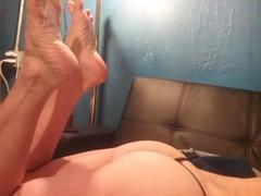Show&Tell (ericgieseking1) Tags: ass naked nude foot barebutt bare thong barefoot sole bareass myassfeet