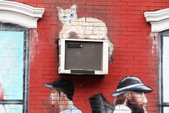 East 9th Street (ShellyS) Tags: nyc newyorkcity manhattan buildings wallart murals eastvillage airconditioners
