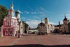Trinity Lavra of St. Sergius. Sergiev Posad. (rededia) Tags: building church architecture nikon religion monastery tamron