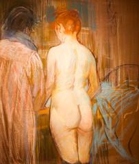 Prostitutes (Thomas Hawk) Tags: usa museum painting dallasmuseumofart dallas texas unitedstates unitedstatesofamerica prostitutes dma henridetoulouselautrec fav10