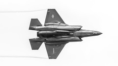 Dirty F-35 Lightning II B&W (4myrrh1) Tags: mcas nc cherrypoint 2016 flight flying flightdemonstrationsquadron flightdemonstrationteam aircraft airplane aviation airshow airplanes airport canon 7dii ef100400l lightningii f35 f35b marine